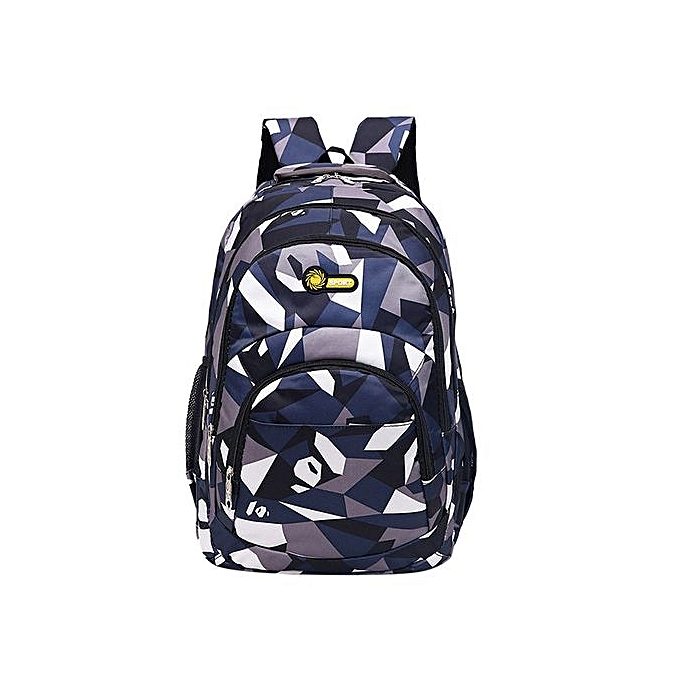 Generic sac à dos Teenage Girls garçons School sac à dos Camouflage impression Students sacs à prix pas cher
