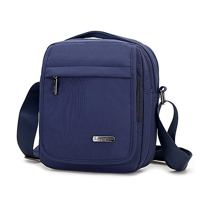 Fashion Nylon Waterproof Leisure Travel Crossbody Bag Large Capacity Handbag Shoulder Bag for Men à prix pas cher
