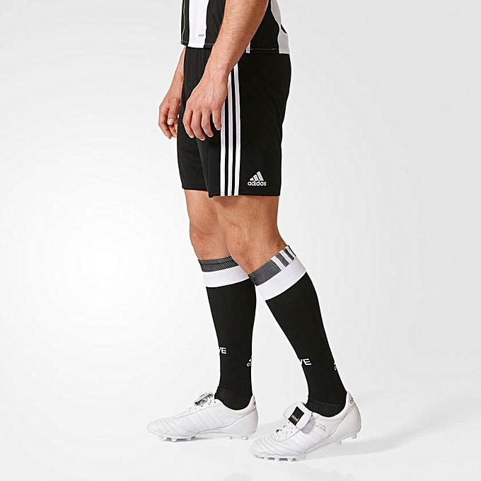 Adidas courte Juventus pour la saison 2016 17 noir à prix pas cher