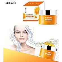 9519b8753 Dr. Rashel 50 g -تبييض ترطيب تبييض مكافحة الشيخوخة حمض الهيالورونيك فيتامين  ج وجه كريم