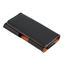ENVOI INTERNATIONAL. Litchi Pattern Clip Belt Holster Protective Case Cover For IPhone 5G/5S
