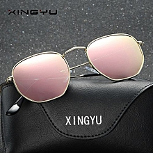 Men and women new polarized sunglasses fashion colorful sunglasses-pink a6097a325a29