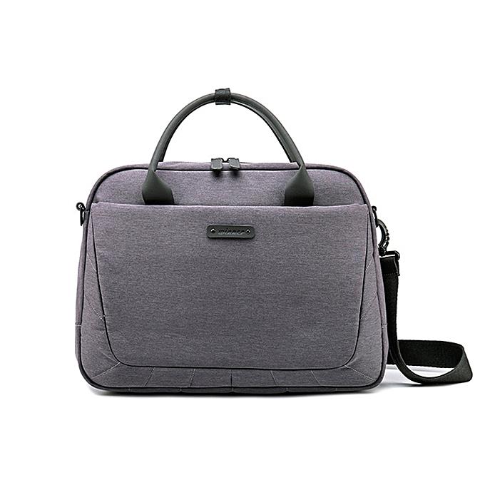 Other Laptop Bag Waterproof Notebook Bag for Macbook Air Pro Laptop Shoulder Handbag Briefcase Work Travel Tote Bag  Men and femmes(Dark gris) à prix pas cher