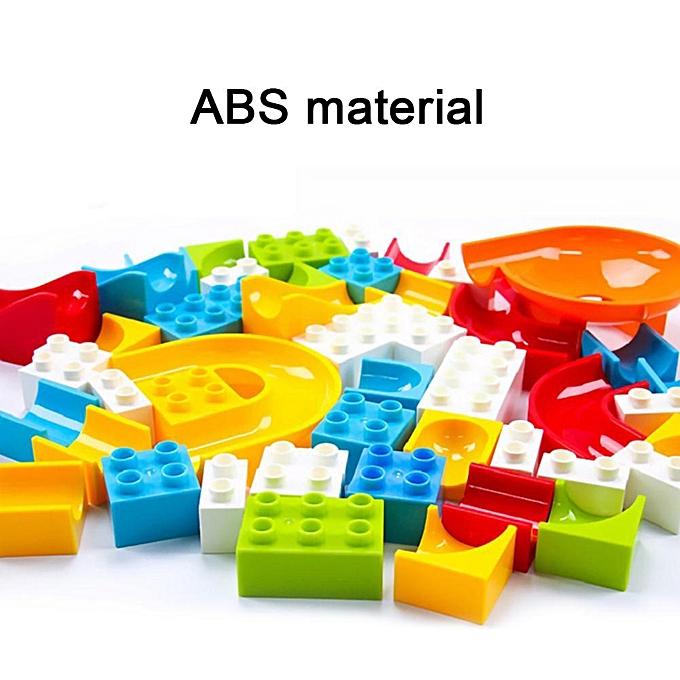 Autre P & amp; L Marble Race courir Maze Piste Balle Entonnoir en plastique Glisser Building Block Enfant Jouet à prix pas cher