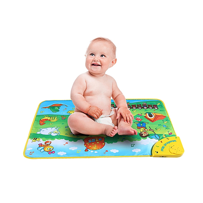 Autre Couleurful Musical Learning Mat Animal Farm Flash Music voiturepet Blanket Touch Toy for   Enfants 71  49 CM à prix pas cher