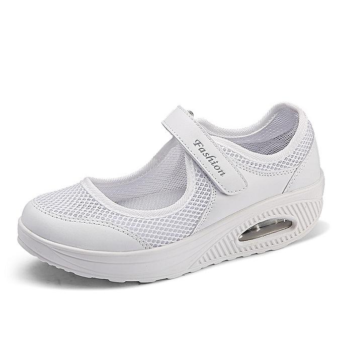 Fashion Large Taille femmes chaussures air cushion mesh chaussures à prix pas cher    Jumia Maroc