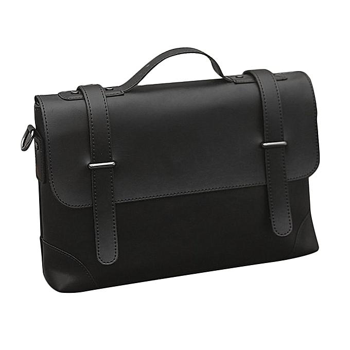 Generic Affaires Hommes Briefcase PU cuir Messenger Laptop sac mode Shoulder sacs à prix pas cher