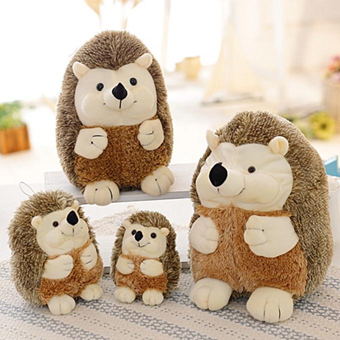 Autre 17cm 22cm  Soft Hedgehog Plush Toys Kawaii Animal Plush Toy Doll High Quality Home Decoration Gift for Kids Girls Dolls Toys(22CM) à prix pas cher