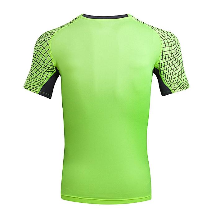 mode Pour des hommes Tee Shirt Print O Neck T-Shirt Sports manche courte Tees chemisier GN L à prix pas cher
