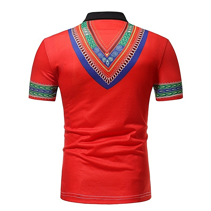 Other mode  Hommes& 039;s African Style manche courte Polo Shirt à prix pas cher