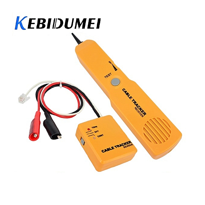 Other kebidumei RJ11 Network Phone Telephone Cable Tester Toner Wire    Tone Line Finder Detector Networking Tool à prix pas cher
