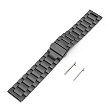 Replacement Stainless Steel Bracelet Strap For Samsung Gear S3 Frontier/ Classic Black