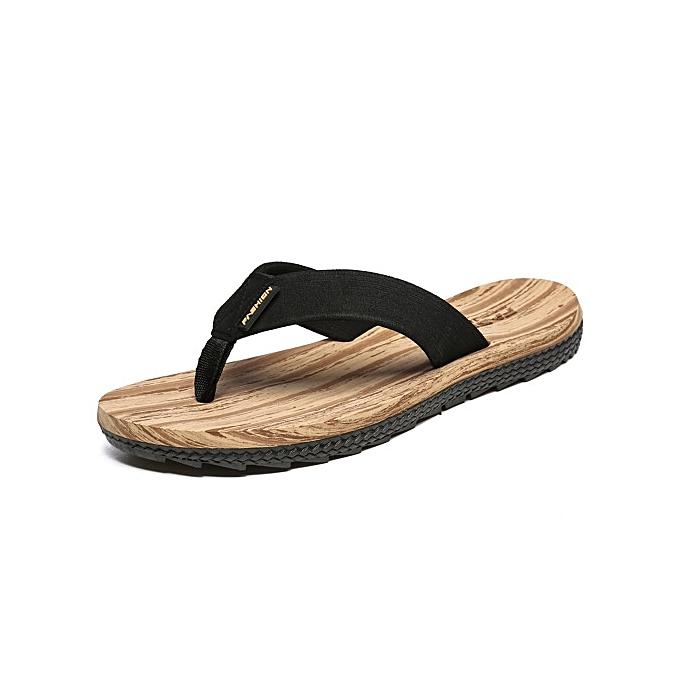 OEM Elegant Super Super Super Large Size Summer  's Flip Flops EVA Soft Indoor Room Sandy Beach Slippers-Marron  à prix pas cher  | Jumia Maroc 0bb2cb