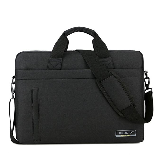 Other 14 15 15.6 Inch Laptop Shoulder Messenger Bag Man femmes Notebook Computer Sleeve Bag Men Tablet Briefcase Case Handbag Retina(noir 14 Inch) à prix pas cher
