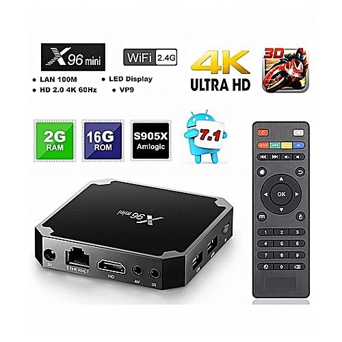ANDROID TV BOX MINI 4K AVEC 12 MOIS IPTV MAGNUM OTT