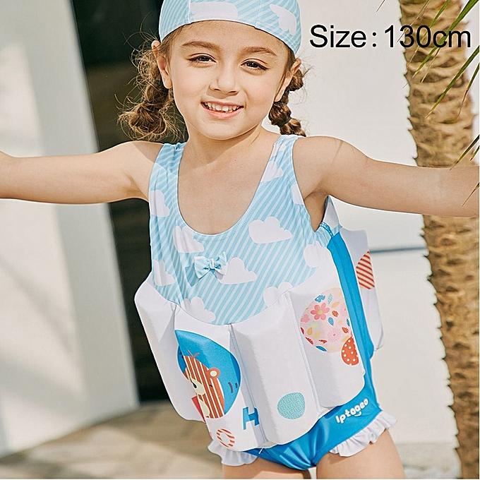 UNIVERSAL SABOLAY Girl Buoyant Conjoined Vest Bathing Suit Life veste, Taille  130 à prix pas cher