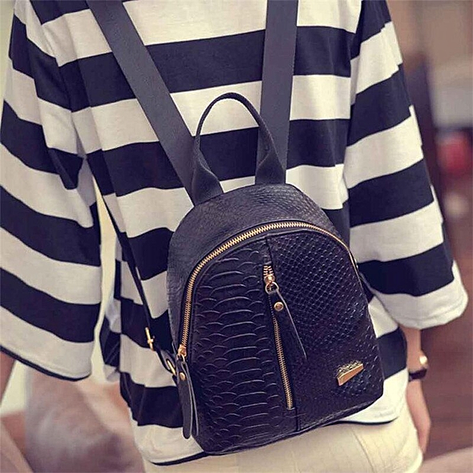 Fashion OCARDIAN Backpack Female femmes Anti Theft High Quality Waterproof Leather Backpacks Schoolbags Travel Shoulder Bag Dropship M13 à prix pas cher