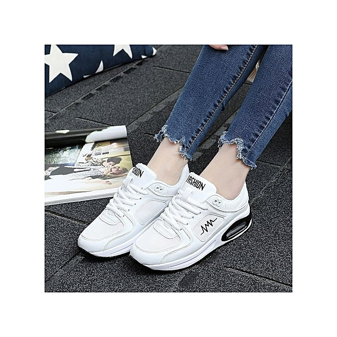 Fashion Breathable WoHommes 's Running Shoes Shoes Shoes Air Cushion Outdoor Sport Shoes Sneaker - White à prix pas cher  | Jumia Maroc c5e193