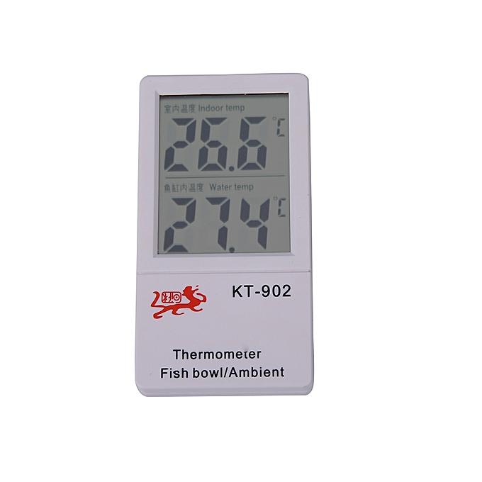 Other LCD Digital Fish Reptile Aquarium Tank Water Thermometer LJMALL à prix pas cher