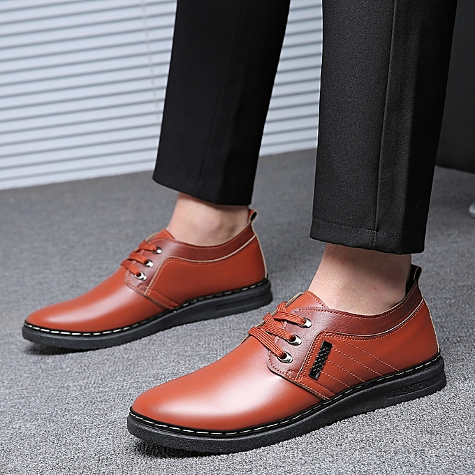 Fashion Men's chaussures Fashion Casual chaussures -marron à prix pas cher    Jumia Maroc