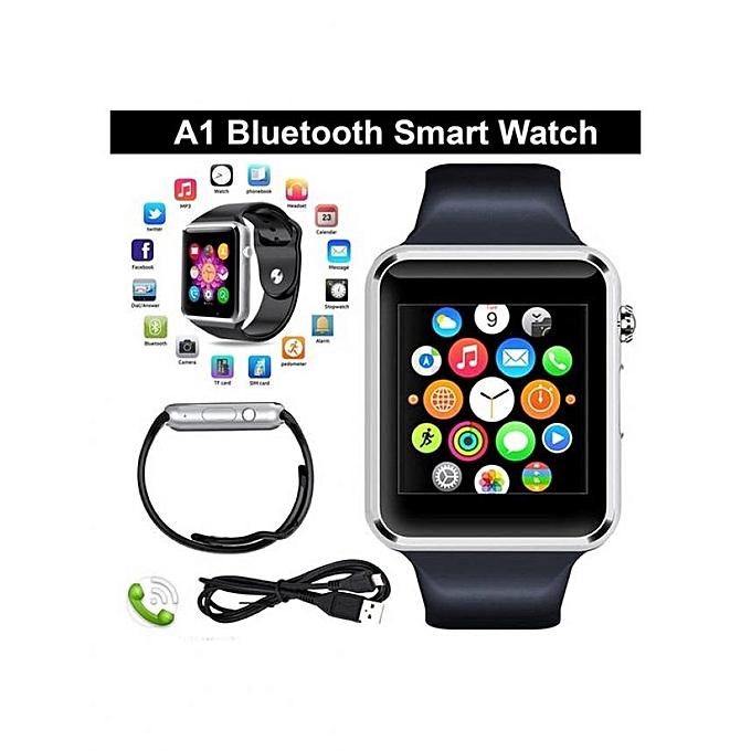 gt08 smart watch montre connect e avec carte sim silver achat t l phones tablettes jumia. Black Bedroom Furniture Sets. Home Design Ideas
