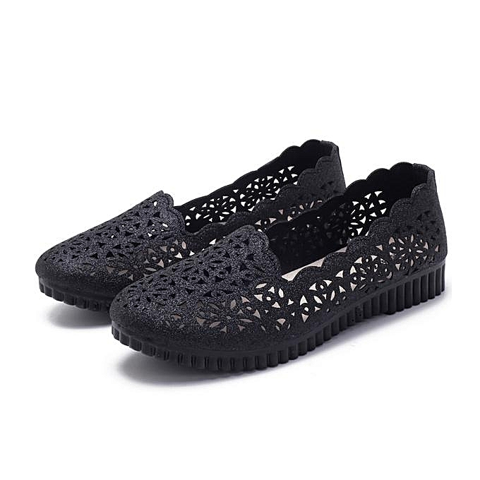 Fashion Fashion femmes Summer Old Beijing Hollow Out Casual Breathable Flats Loafer chaussures à prix pas cher    Jumia Maroc