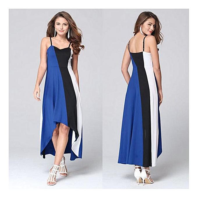 Fashion Wohommes Summer Boho Long Maxi Dress Evening Cocktail Party Beach Dress BU S à prix pas cher