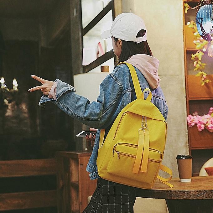 mode Singedan Shop Wohommes mode Candy Couleurs Shoulder sacs sac à dos voyage sac à dos YE à prix pas cher