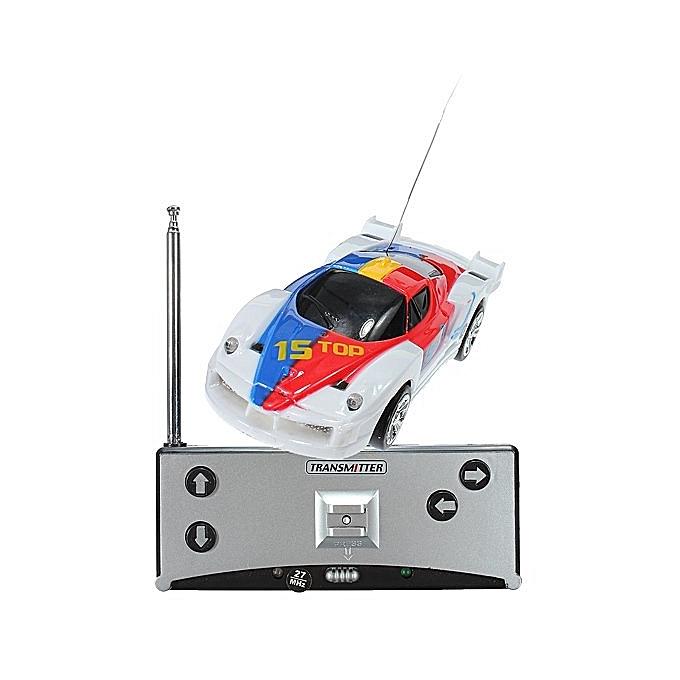 UNIVERSAL Coke Can Mini Radio Remote Control Car (noir blanc) à prix pas cher