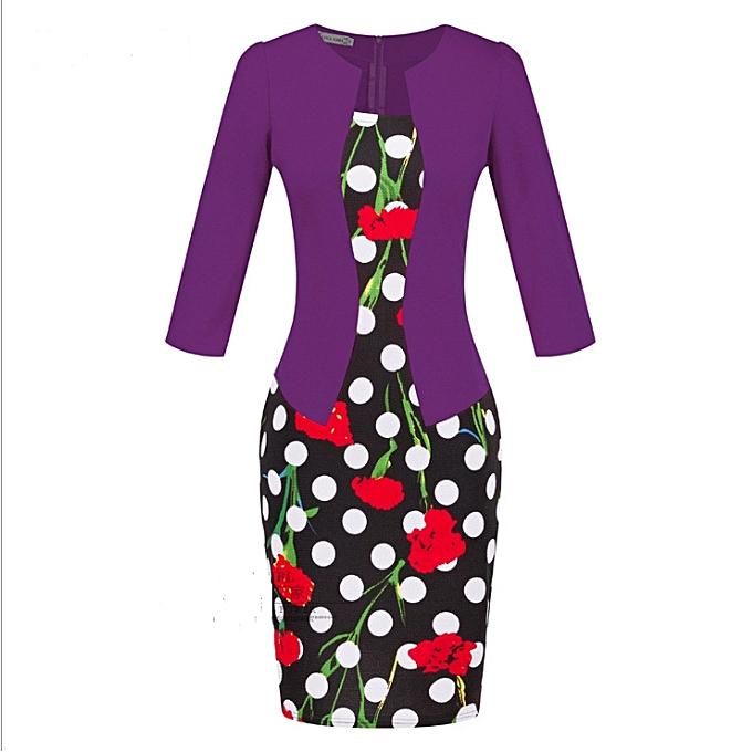 OEM nouveau style femmes& 039;s professional sac hip pencil mode comfortable Robe-19 à prix pas cher