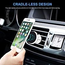Aduds Support T/él/éphonique Voiture Universal Grille da/ération de Voiture Support de t/él/éphone Cradle pour iPhone X 8 7 6s Plus Samsung Galaxy S7 S6 Huawei Sony LG Noir
