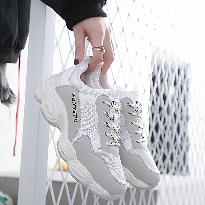 Autre Autre Autre Stylish 2018 New Casual Thick Sole Sports Jogging Chaussure s à prix pas cher  | Jumia Maroc 65a60d