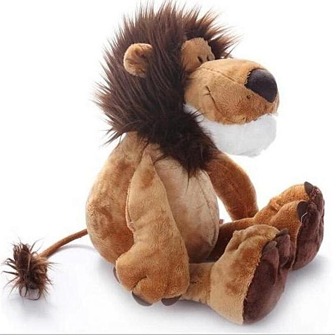 Autre 1pcs 10  25cm Popular Lion Stuffed Doll Plush Jungle Series Animal TOYS Kids Toys à prix pas cher