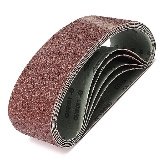 UNIVERSAL 5x 21''x3'' 40-Grit Grinding Sanding Belt Alumina Self Sharpening Oxide Abrasive à prix pas cher