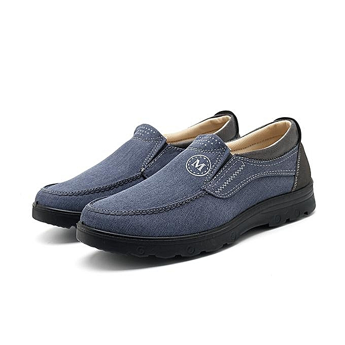 Fashion Fashion Men Large Taille Old Peking Flat Casual Cloth Flats chaussures Loafers-EU à prix pas cher    Jumia Maroc