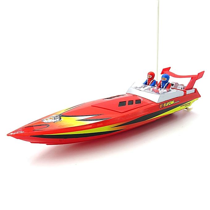 Flytec Flytec HQ5011 34CM Infrarouge 27MHZ 40MHZ Rc Boat 15KM H Without Battery RTR Toys-jaune à prix pas cher