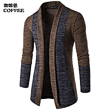 67228423aeaa Men  039 s Sweatshirts Casual Slim Fit Cardigan Hoodies Cotton Stitching  -coffee