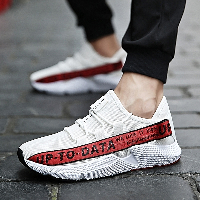 Other New Stylish Men's Sports Running blanc chaussures Breathable baskets à prix pas cher