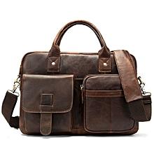 efcdb96145354 WESTAL 100% en cuir véritable hommes porte-documents portefeuille sac pour  hommes A4 cartable