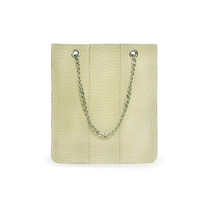 Siketu Fashion femmes Leather Chain Handbag Totes Messenger Phone Bag BG-Beige à prix pas cher