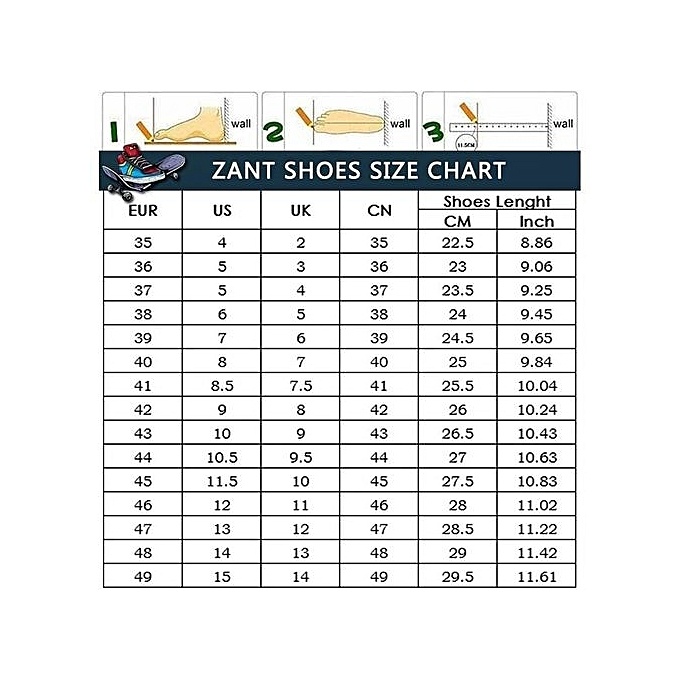 Zant British Style  's Casual Shoes Fashion Sneakers High High Sneakers Cut White à prix pas cher  | Jumia Maroc 5ab3d8