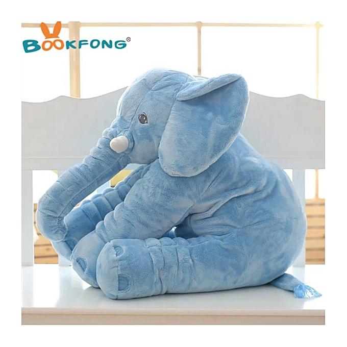 Autre Super Soft   Infant Appease Elephant Playmate Calm Doll   Toys Elephant PilFaible Plush Toys Stuffed Animal Doll 20 60cm(40cm bleu elephant) à prix pas cher