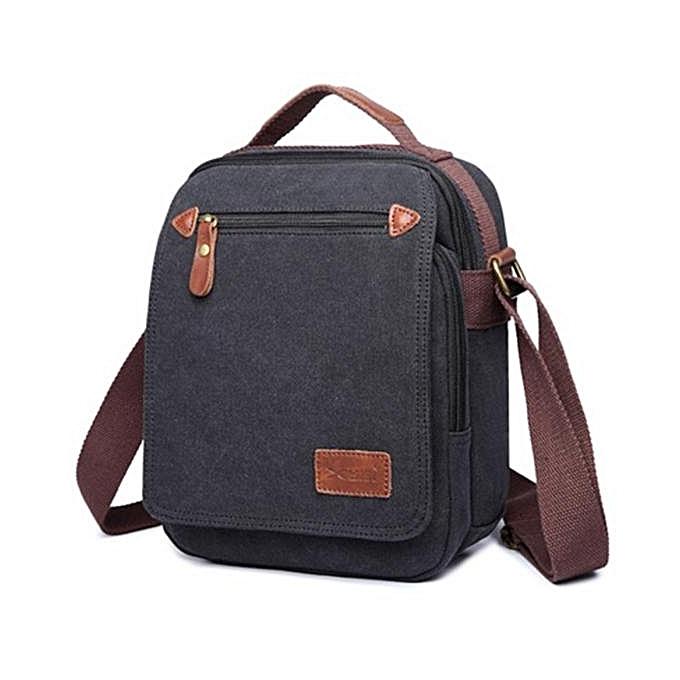 UNIVERSAL New canvas bag hommes Messenger bag shoulder bag IPAD special men à prix pas cher
