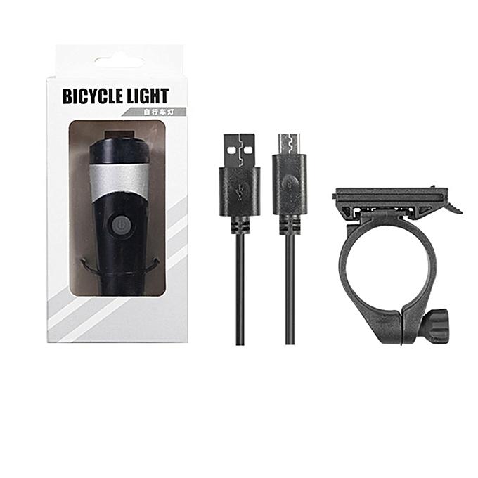Generic Waterproof Flashlight USB Charging MTB Bike Headlights Night Riding Lights à prix pas cher