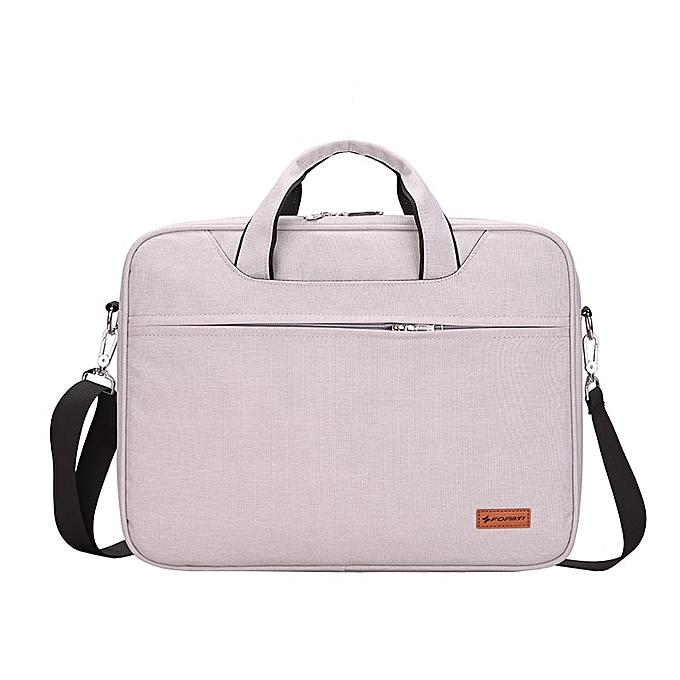 Other Kissyenia Waterproof Business Briefcase for Men Travel 13 14 inch Laptop Bag Portable Flight Available Men's A4 Briefcase KS1252(blanc) à prix pas cher