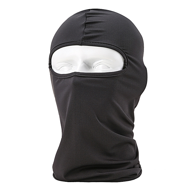Autre HEROBIKER Motorcycle Face Mask Unisex Summer Breathable Balaclava Moto Mask Ski Motorcycle Paintball Tactical Face Shield Hood( BF 03) à prix pas cher