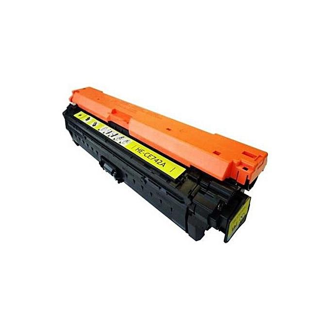 Hybrid TONER HYBRIDE HP 307A réf  CE742A à prix pas cher
