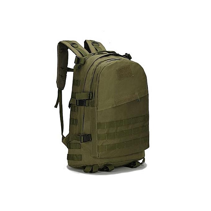 mode Singedan40L 3D sac à dos de plein air Trekking Sport voyage  Camping Hiking Camouflage sac AG -Army vert à prix pas cher