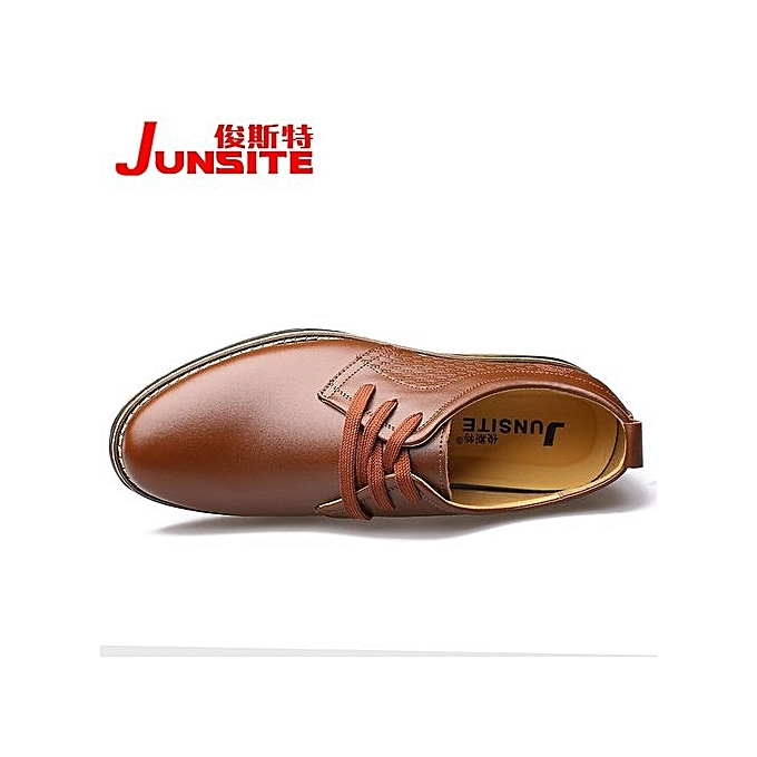 Fashion  's 's  Business Casual Leather Shoes à prix pas cher    Jumia Maroc 30f56a