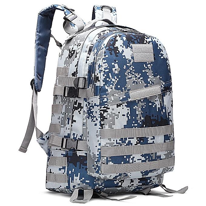 mode Tcetoctre 40L 3D sac à dos de plein air Trekking Sport voyage  Camping Hiking Camouflage sac L-As shown à prix pas cher